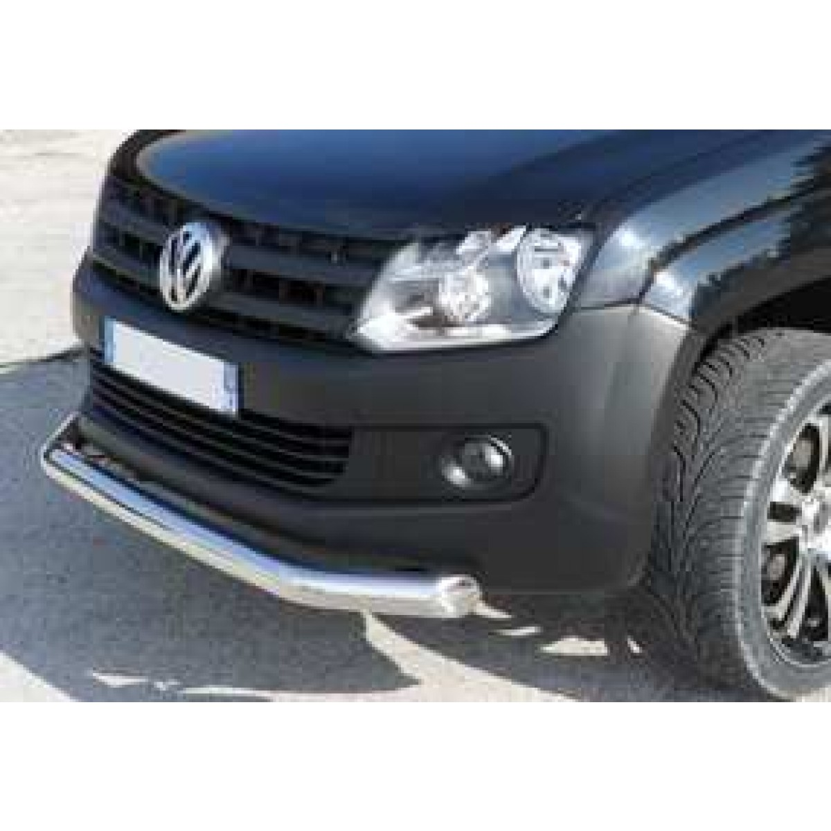 accessoire pickup tube de protection inox avant vw amarok. Black Bedroom Furniture Sets. Home Design Ideas