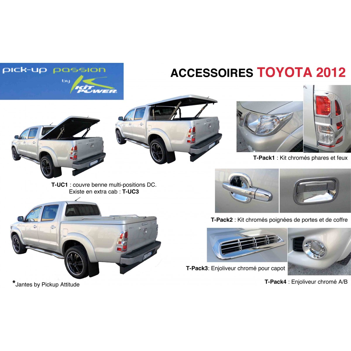 accessoires toyota hilux 2012. Black Bedroom Furniture Sets. Home Design Ideas