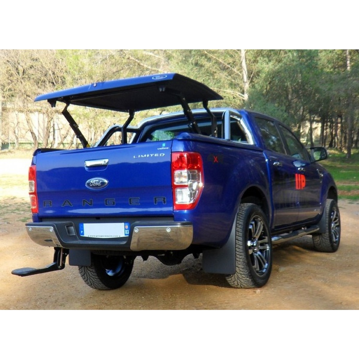 accessoire pick up couvre benne top up multi positions ford ranger 2012. Black Bedroom Furniture Sets. Home Design Ideas
